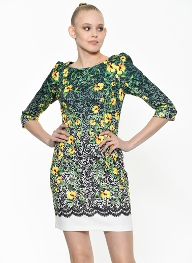 Kiwe Elbise Yeşil
